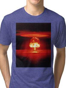 Operation Castle Romeo Nuclear Test - 1954 Tri-blend T-Shirt