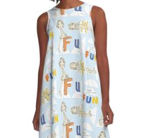 Make Your Own Fun! A-Line Dress