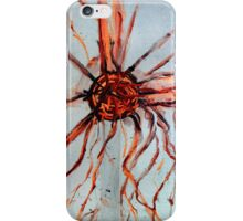 Inverted Tesla coil  iPhone Case/Skin