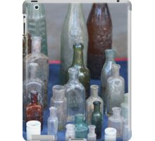 antique wine bottles iPad Case/Skin