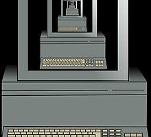 stanley parable computer by craftwerker
