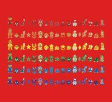 Rainbow Super Mario - Horizontal Version 1 One Piece - Short Sleeve