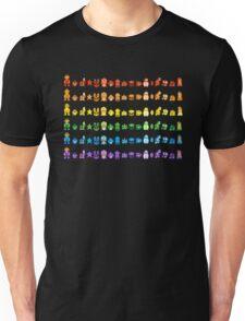 Rainbow Super Mario - Horizontal Version 1 Unisex T-Shirt