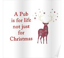 A Pub is for Life Poster