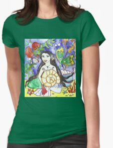 Mermaid Althea Womens Fitted T-Shirt