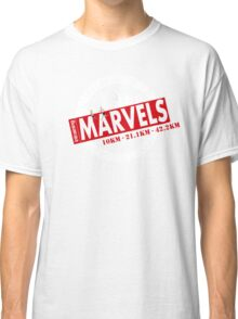 Melbourne Marvel Participent Range red Classic T-Shirt