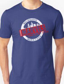 Melbourne Marvel Participent Range red Unisex T-Shirt
