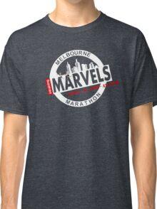 Melbourne Marvel Participent Range white Classic T-Shirt