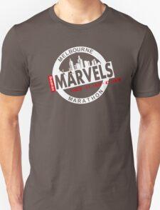 Melbourne Marvel Participent Range white Unisex T-Shirt