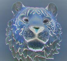 Tiger Head. by Forfarlass
