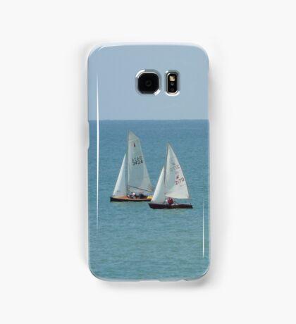 Sailing Boats on the Sea Samsung Galaxy Case/Skin