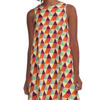 Vintage Summer A-Line Dress