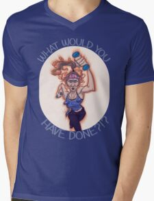 WHAT WOULD GAYLE HAVE DONE?!? Mens V-Neck T-Shirt