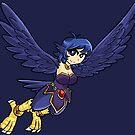 Harpy Mage by Ryuuji