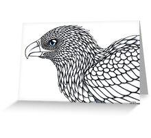 Grey Eagle Greeting Card