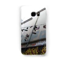 Shoes on a wire Samsung Galaxy Case/Skin