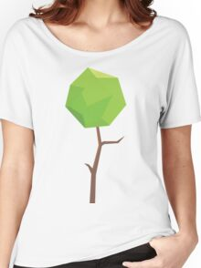 Nature Green Digital Leaf Women's Relaxed Fit T-Shirt