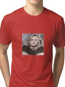 Hillary Rodham Clinton Official White House Portrait Tri-blend T-Shirt