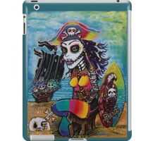 Pirate Girl - Surfs Up iPad Case/Skin