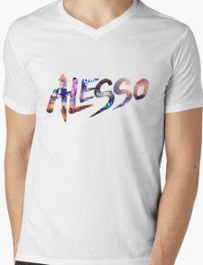 Alesso Montage Mens V-Neck T-Shirt