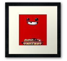 meat boy Framed Print