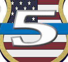 Dallas Police Officer Memorial Sticker