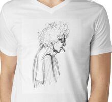 Ballad of a Sketched Man  Mens V-Neck T-Shirt