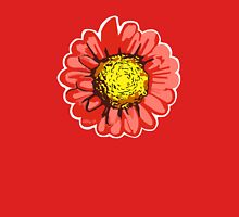 Red Chrysanthemum Flower Illustration Tank Top