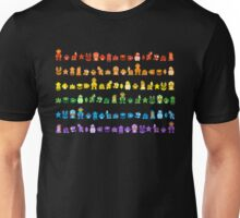 Rainbow Super Mario - Horizontal Version 2 Unisex T-Shirt