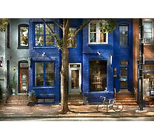 City - Bike - Alexandria, VA - The urbs Photographic Print