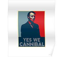 Yes We Cannibal - NBC Hannibal  Poster