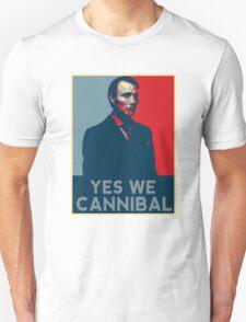 Yes We Cannibal - NBC Hannibal  Unisex T-Shirt