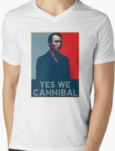 Yes We Cannibal - NBC Hannibal  Mens V-Neck T-Shirt