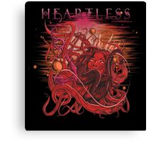 drowning heartless red Canvas Print