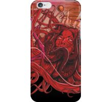 drowning heartless red iPhone Case/Skin