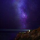 Lighthouse Under Milky Way stars by DDMITR