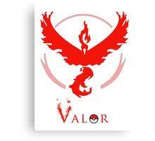 Pokemon Go - Valor Red Canvas Print