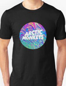 Arctic Monkeys - Logo Oil Unisex T-Shirt