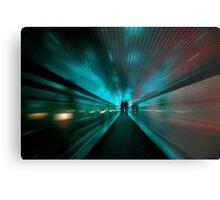 Tunnel Lights Metal Print