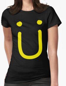 Jack U - Logo yellow Womens Fitted T-Shirt