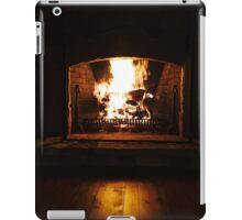 Fireplace iPad Case/Skin