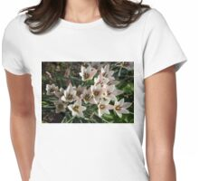 A Bunch of Miniature Tulips Celebrating the Spring Season Womens Fitted T-Shirt