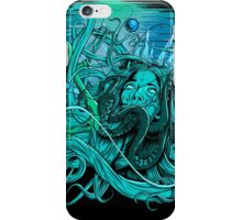 drowning heartless BLUE iPhone Case/Skin