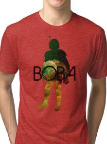 Boba Fett Galaxy Tri-blend T-Shirt