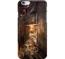 Machinist - Lathe - The corner of an old workshop iPhone Case/Skin