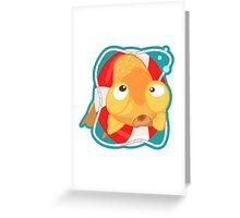 Cute Goldfish Greeting Card