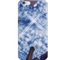 Jets over City iPhone Case/Skin