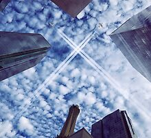 Jets over City by DDMITR