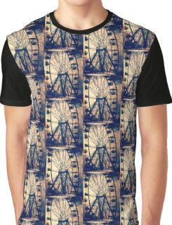 Vintage Ferris Wheel, Fall Fair Graphic T-Shirt