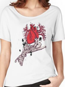 Hearth in Hand, Red and Naked hearth Women's Relaxed Fit T-Shirt
